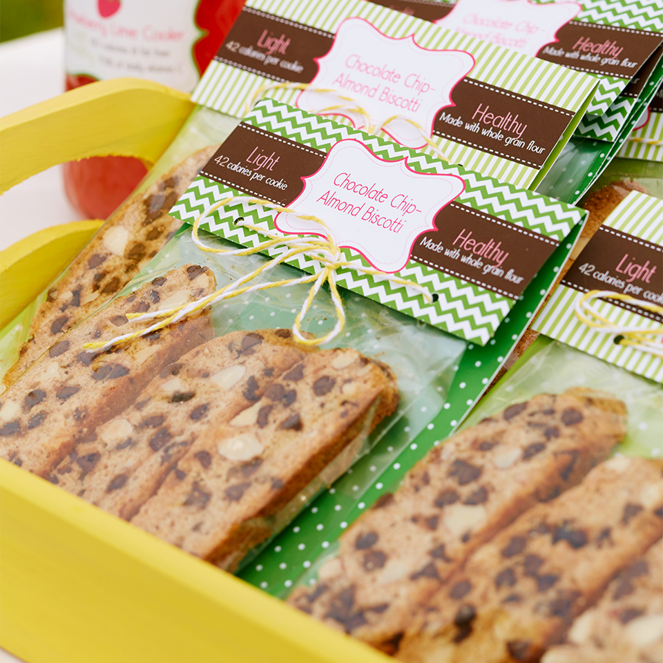 Chocolate Chip-Almond Biscotti Trusted Brands