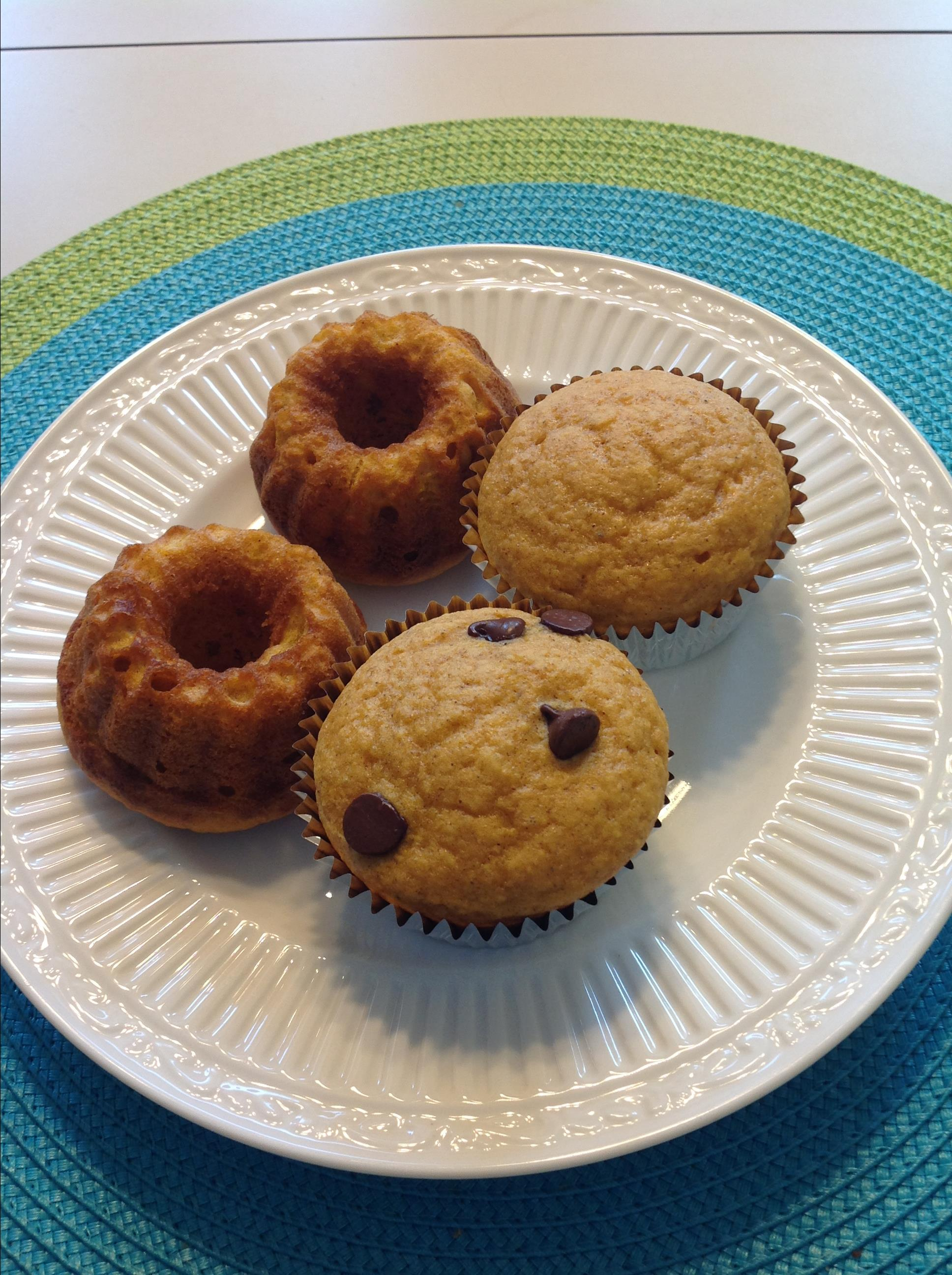 Tiffany's Pumpkin Cupcakes meg