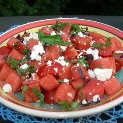 Watermelon and Tomato Salad KIERSA
