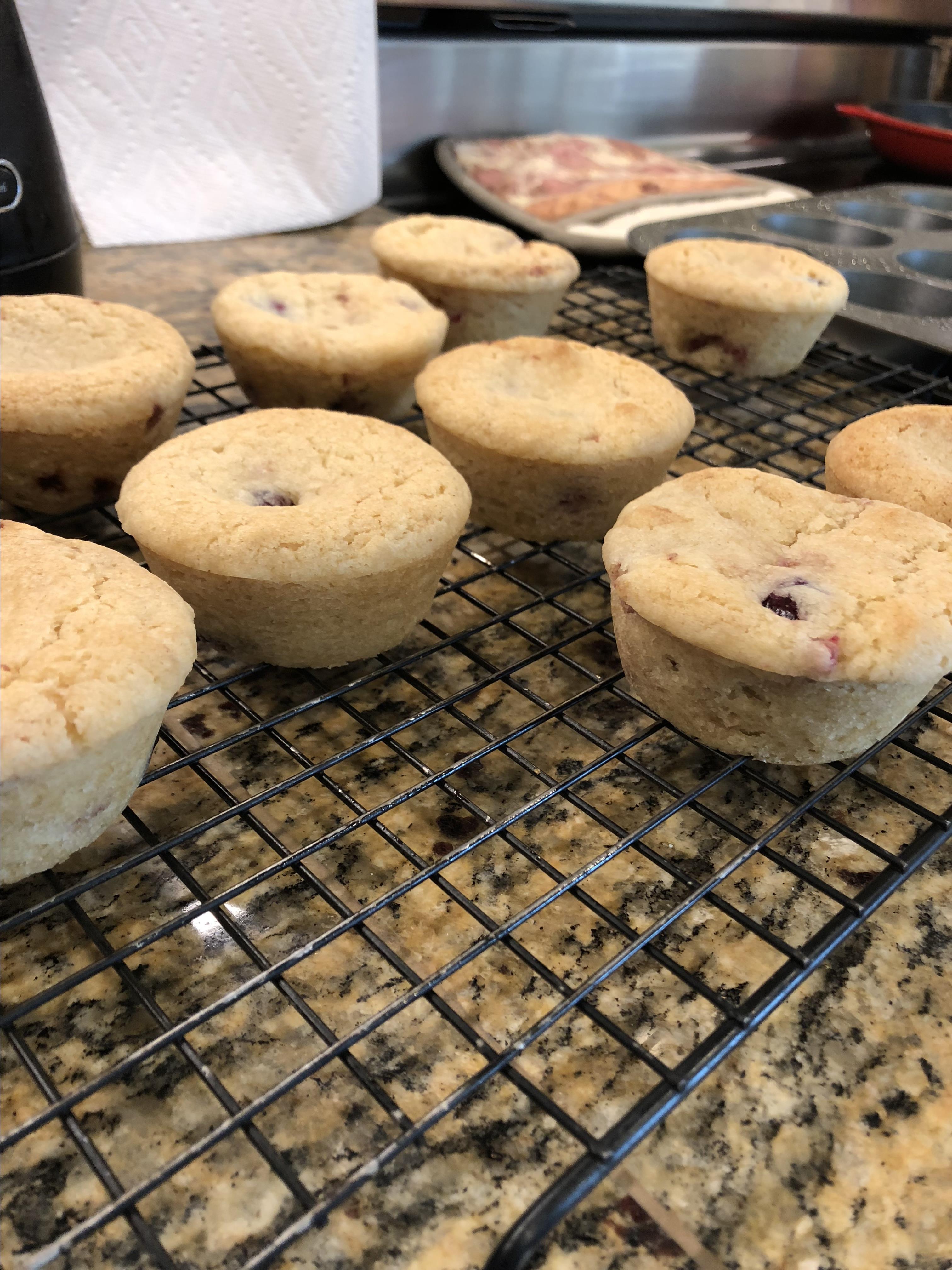 Berry Lemon Muffins