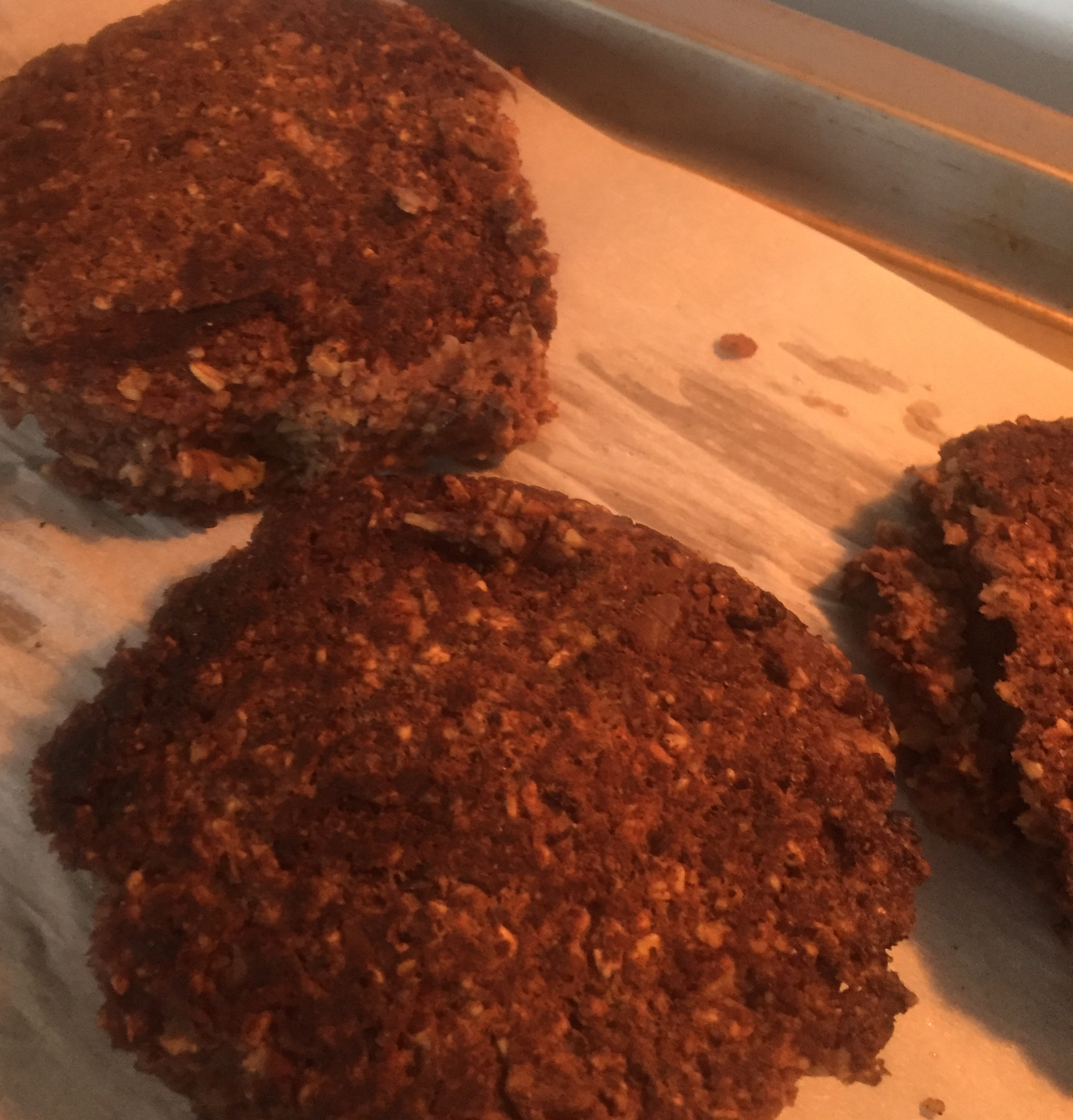 Black Bean and Walnut Burgers