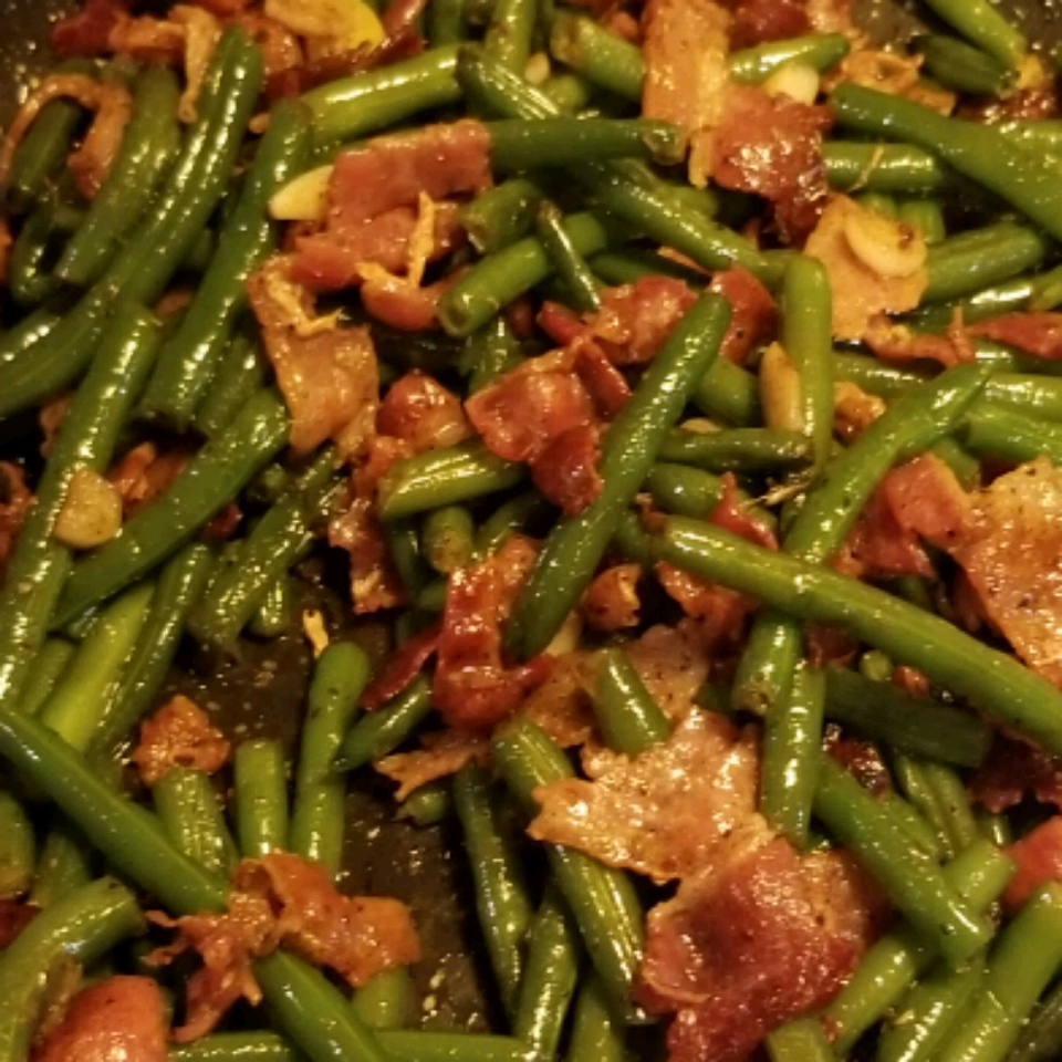 Green Bean and Bacon Saute