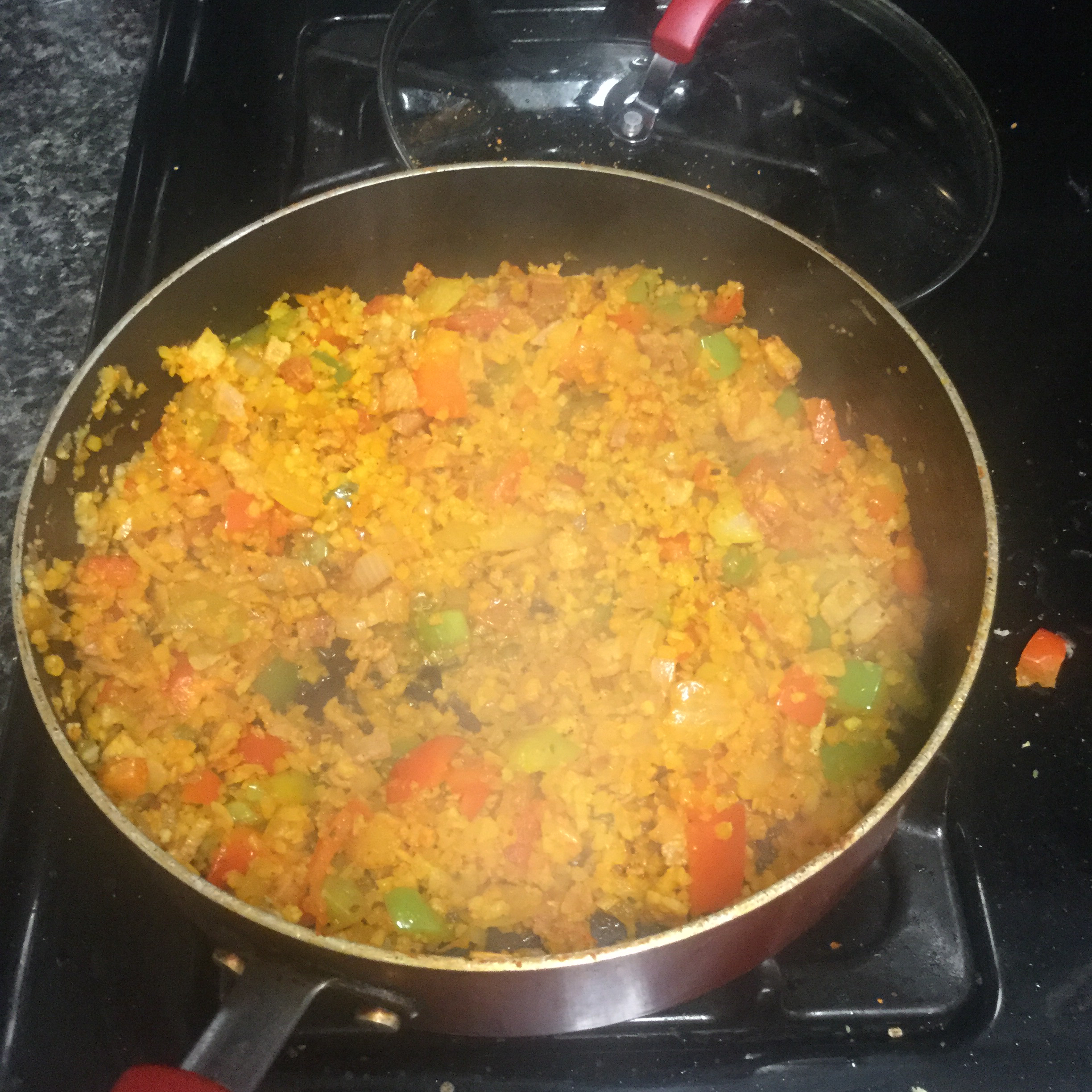 Cauliflower and Sweet Potato Hash Amalia Lozet-McCargo