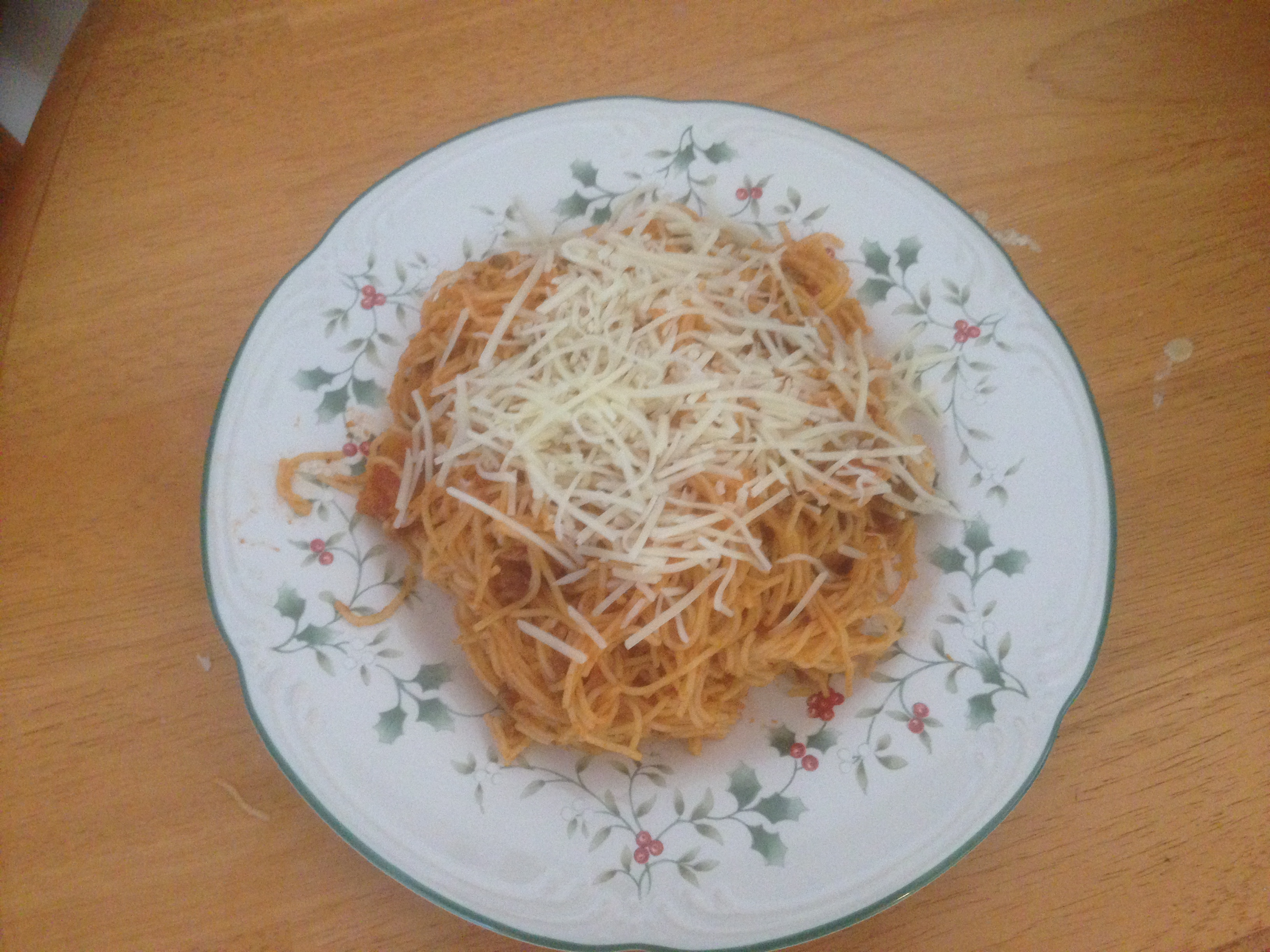 Mariu's Spaghetti with Meat Sauce Chi S. Sarmeol