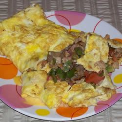 Three Egg Omelet Holly Berry