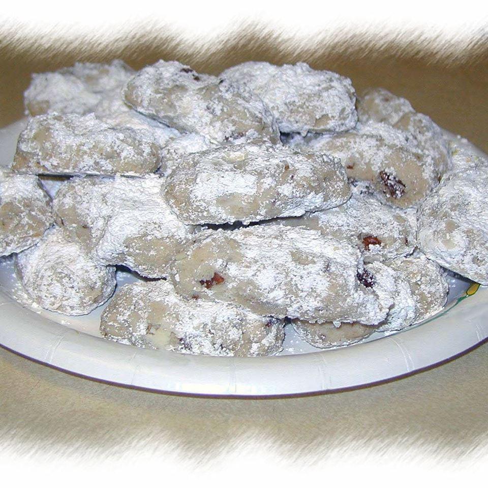 Elizabeth Dole's Pecan Roll Cookies falkeko