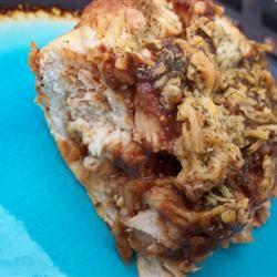 Barbeque Chicken Pasagna