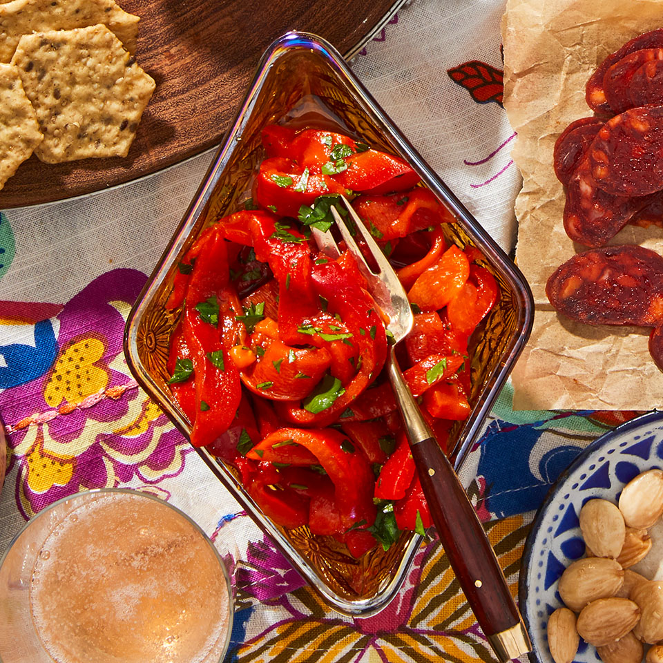 Marinated Roasted Peppers Trusted Brands
