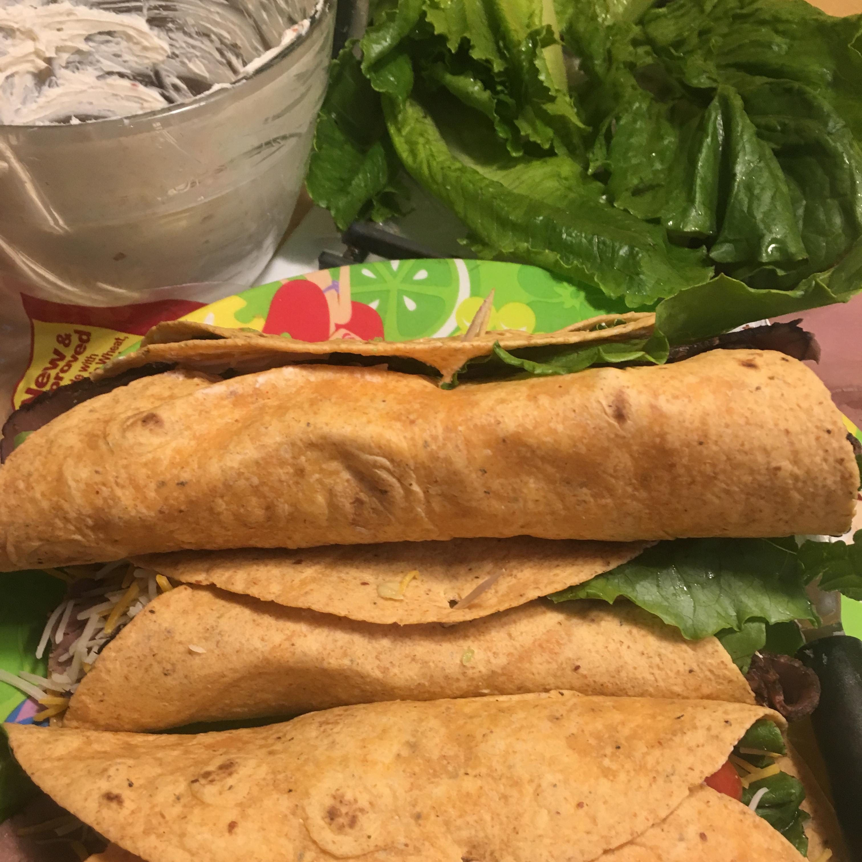 Roast Beef and Avocado Wraps Paula Ranker