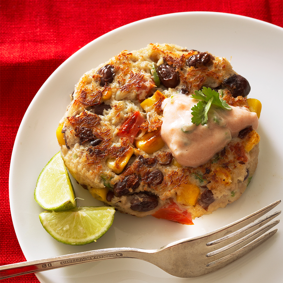 Spicy Black Bean Crab Cakes Diabetic Living Magazine