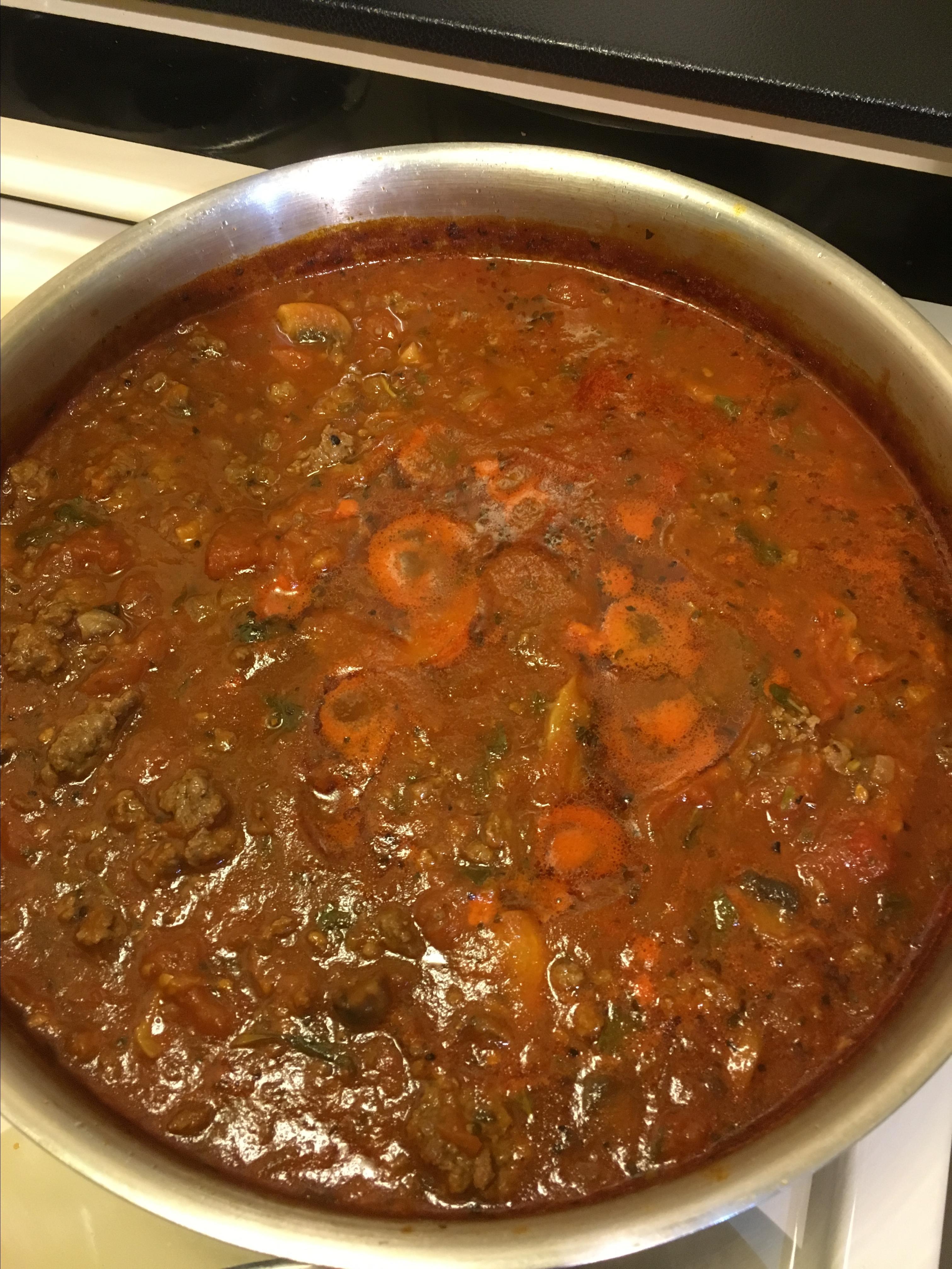 Grandma Maggio's Spaghetti Sauce Margie