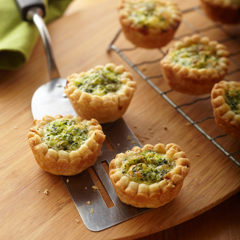 Tiny Broccoli Quiches Trusted Brands