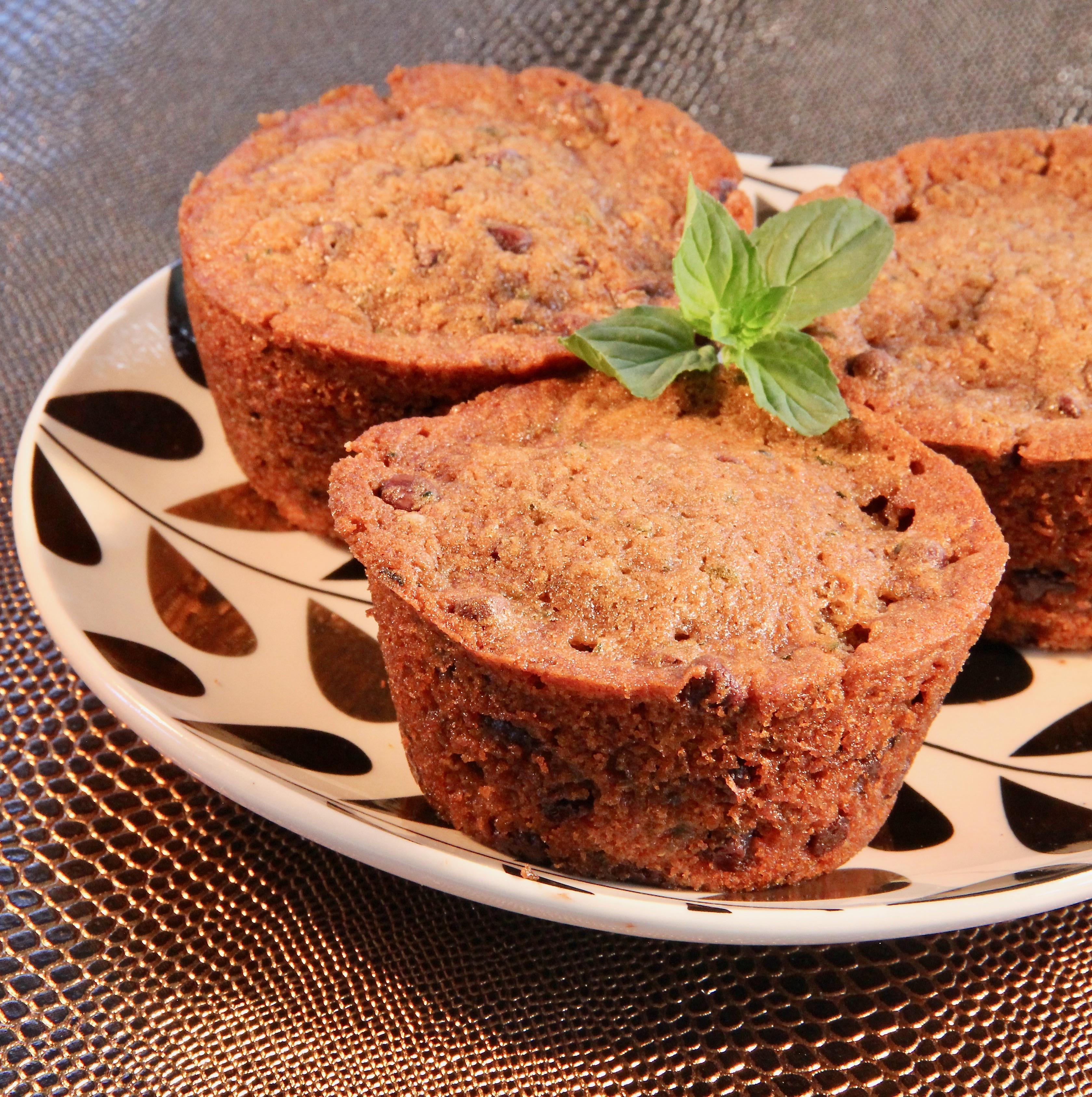 Zucchini Chocolate Chip Cupcakes