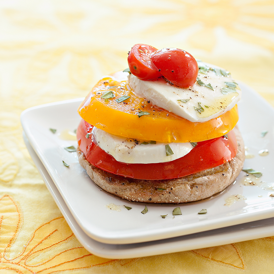 Tomato Stack Diabetic Living Magazine