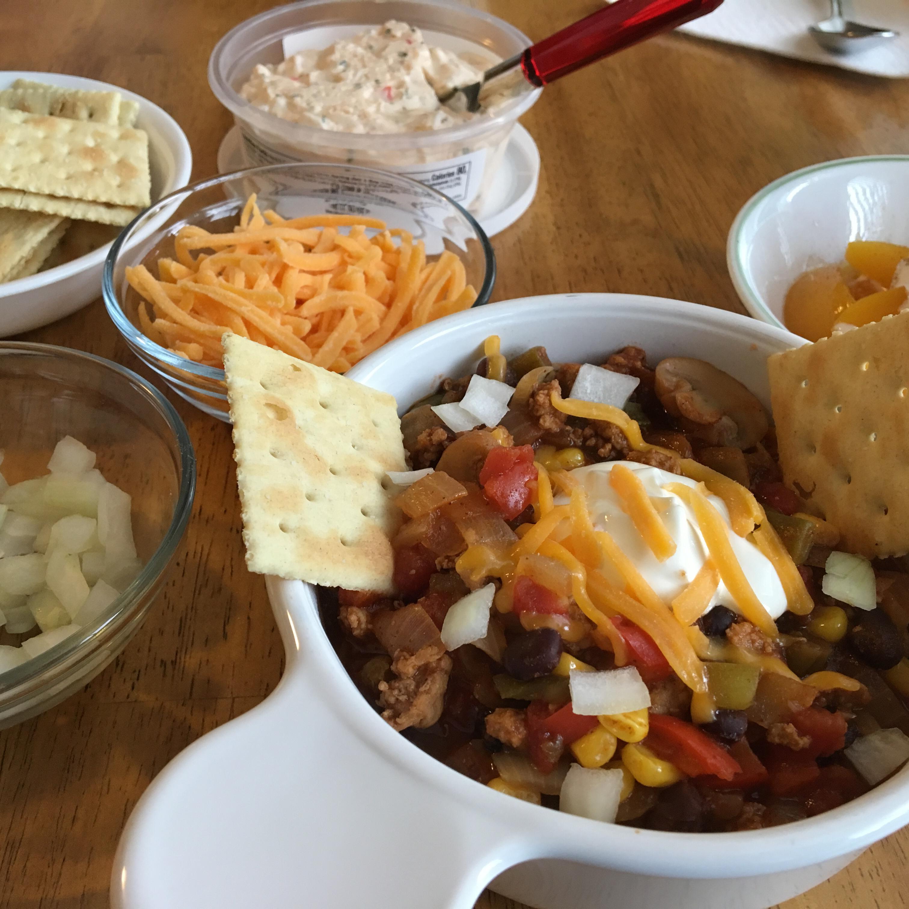 Chili with Ground Pork mamaza