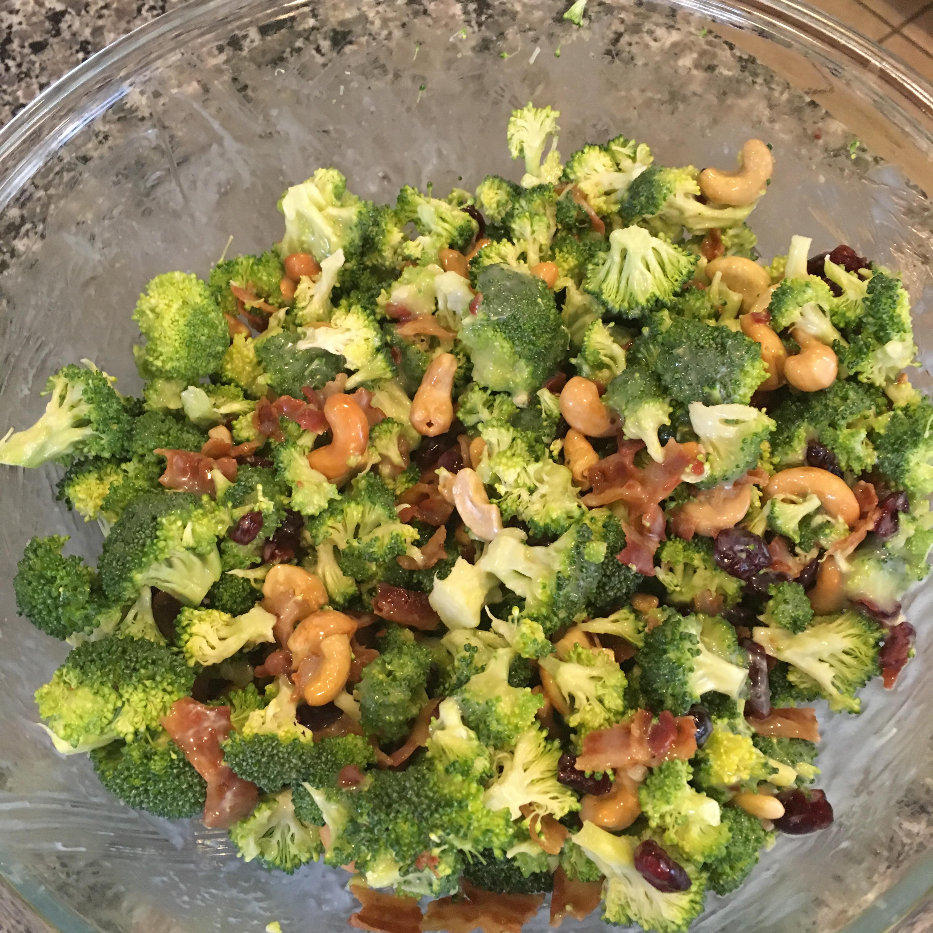 Broccoli Cashew Salad julie