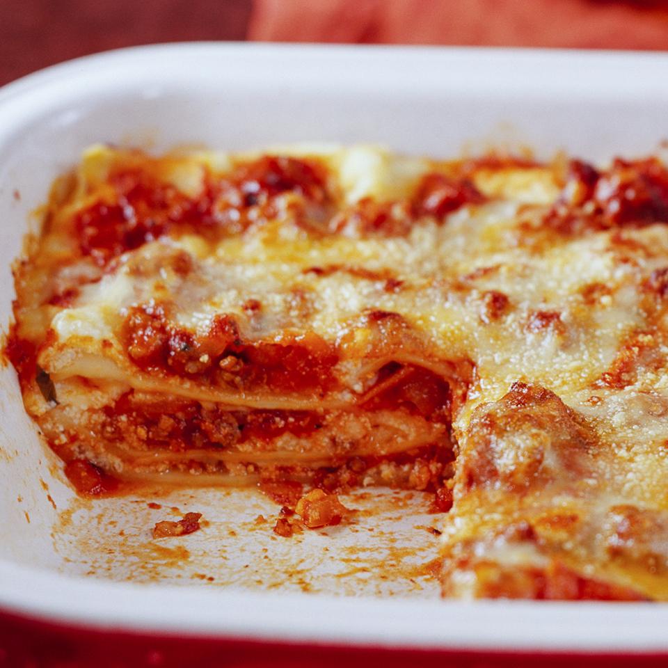 Lasagna Diabetic Living Magazine