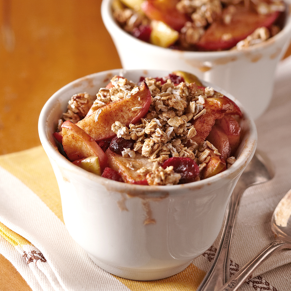 Apple-Cranberry Cobbler Diabetic Living Magazine