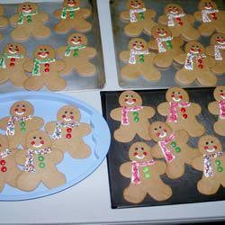 Classic Gingerbread Cutouts