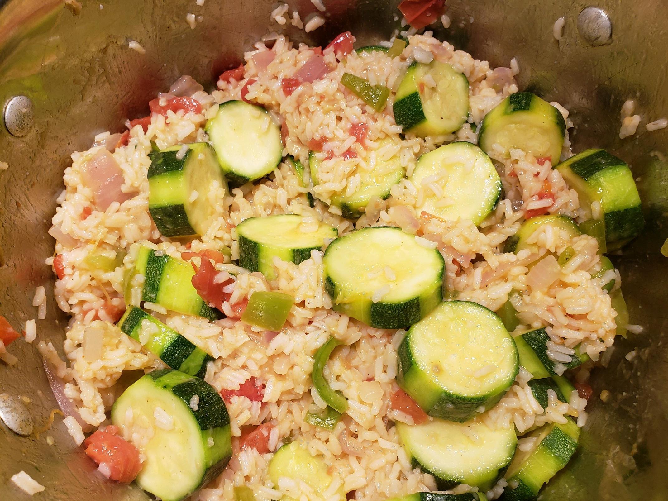Zucchini-Tomato Saute Riley III