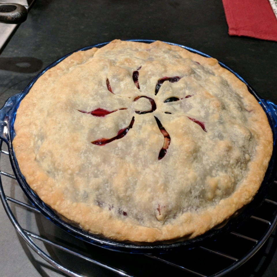 Amazing Blueberry Rhubarb Pie Alex