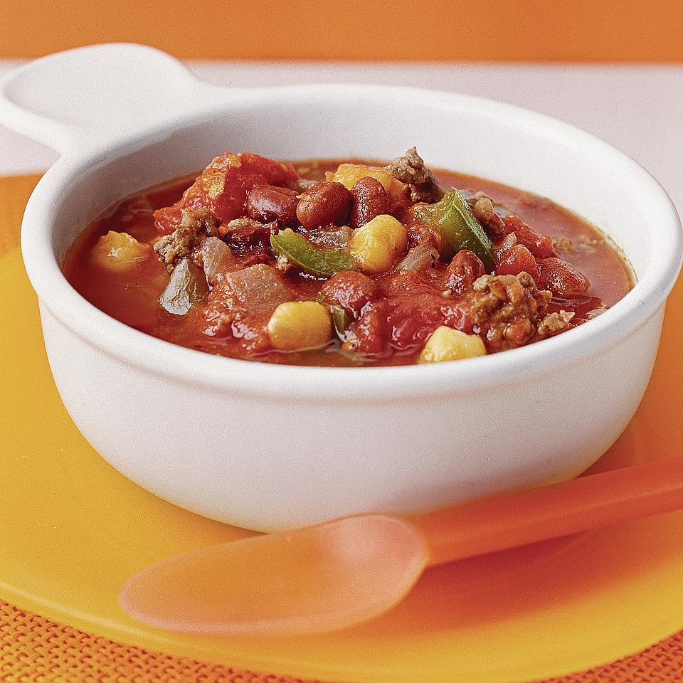 Chipotle Chili with Hominy & Beans Diabetic Living Magazine
