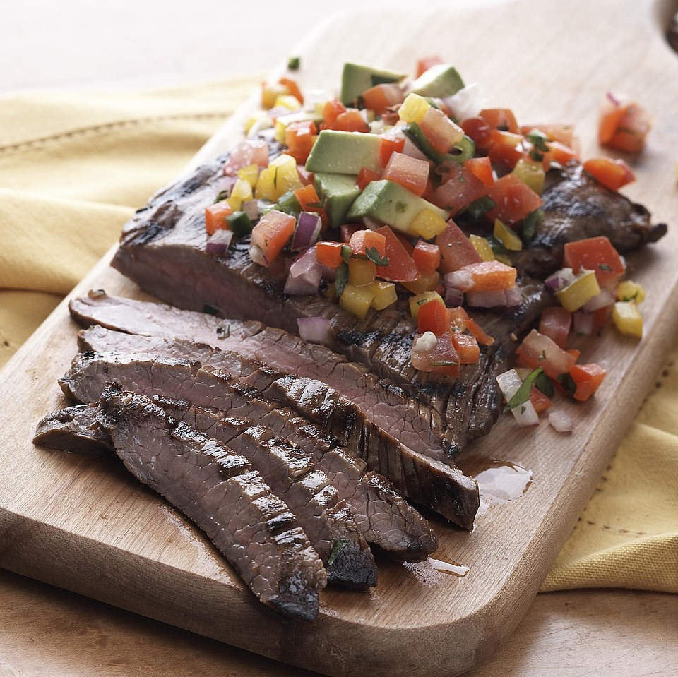Cilantro-Lime Flank Steak Diabetic Living Magazine
