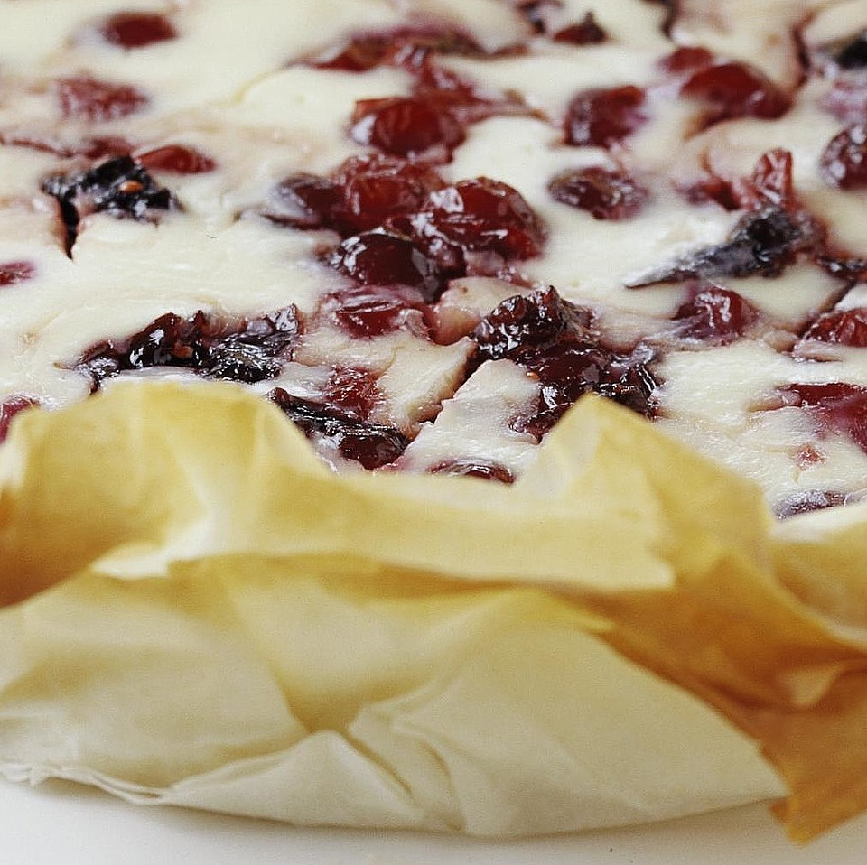 Cranberry Phyllo Cheesecake Diabetic Living Magazine