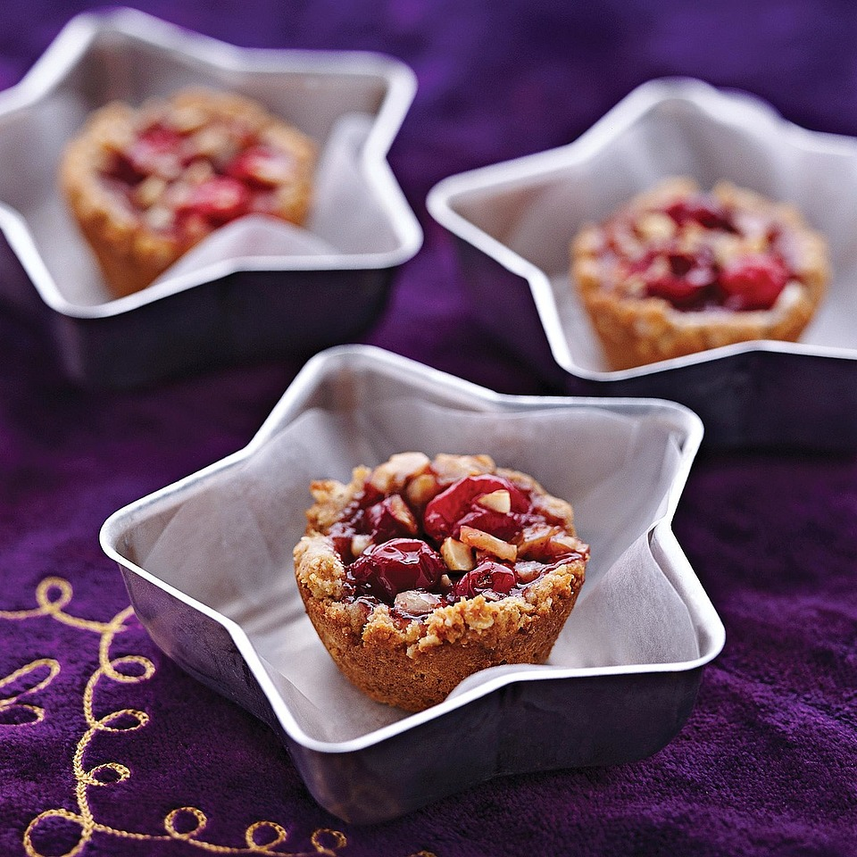 Cranberry-Hazelnut Tarts Trusted Brands