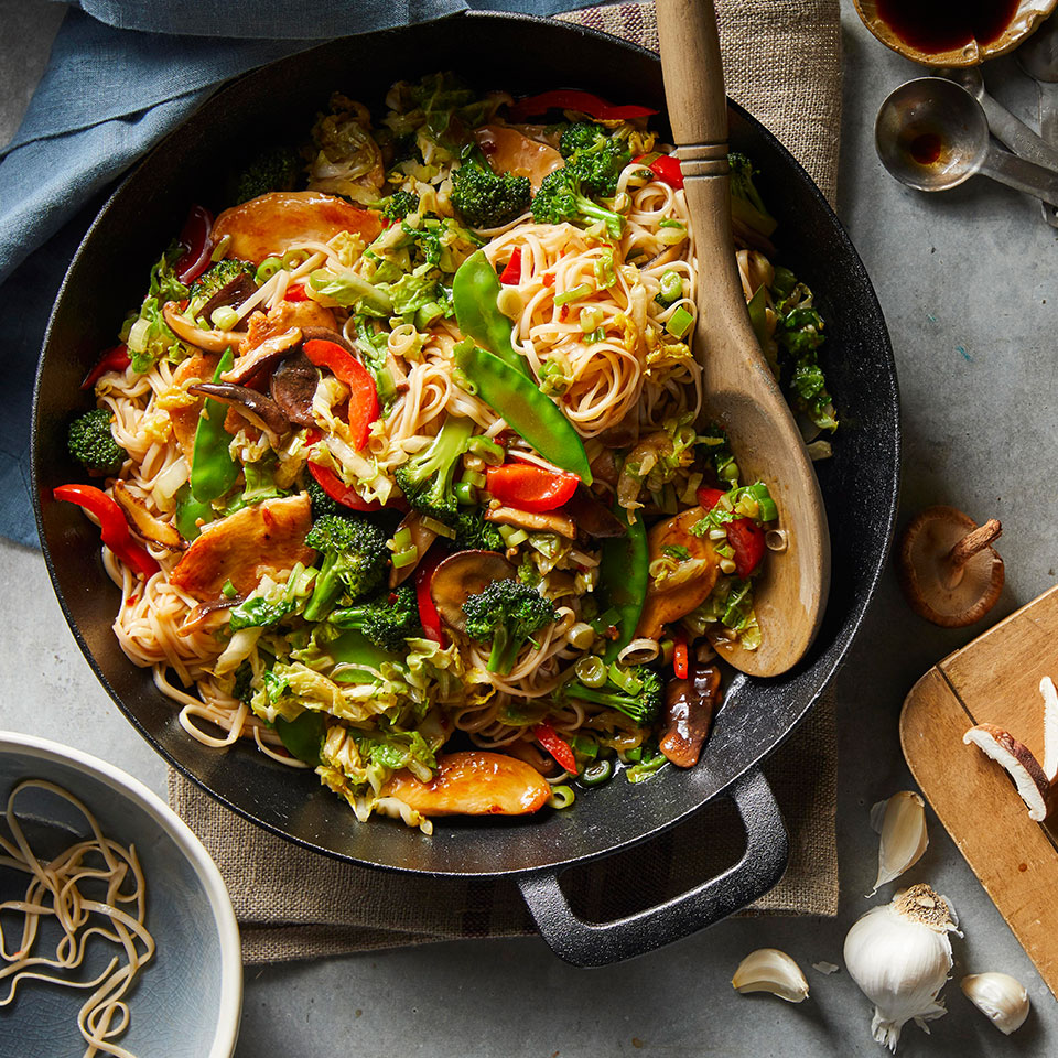 Cabbage Lo Mein