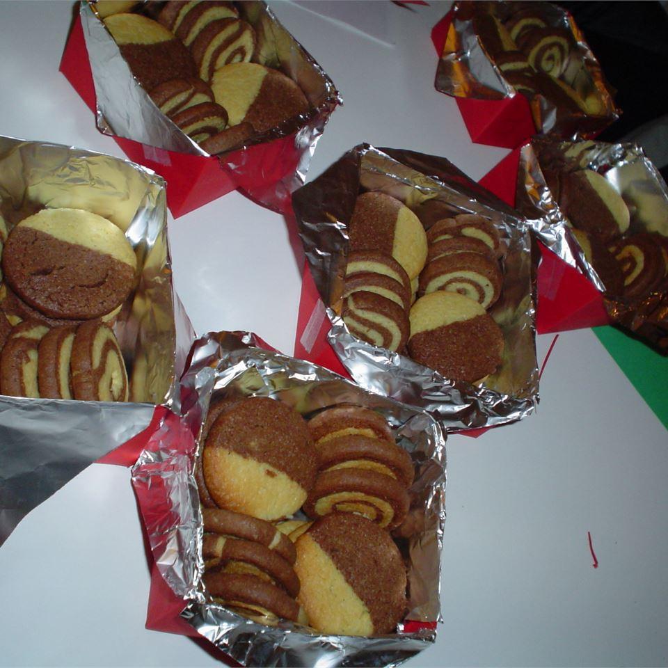 Chocolate Pinwheels blandselvslik