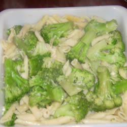 Broccoli and Garlic Penne Pasta J. Dionne