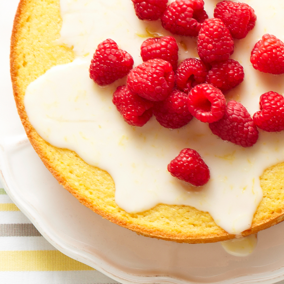 Cornmeal-Yogurt-Lemon Cake