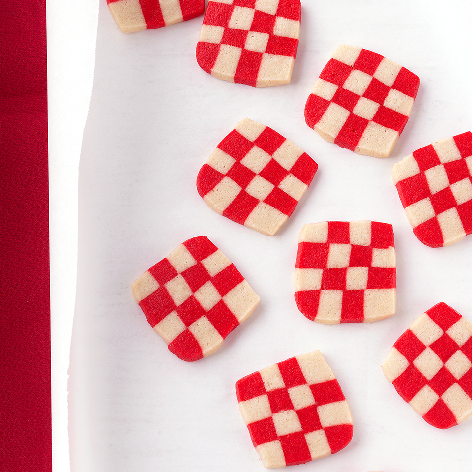 Peppermint Checkerboard Cookies Trusted Brands