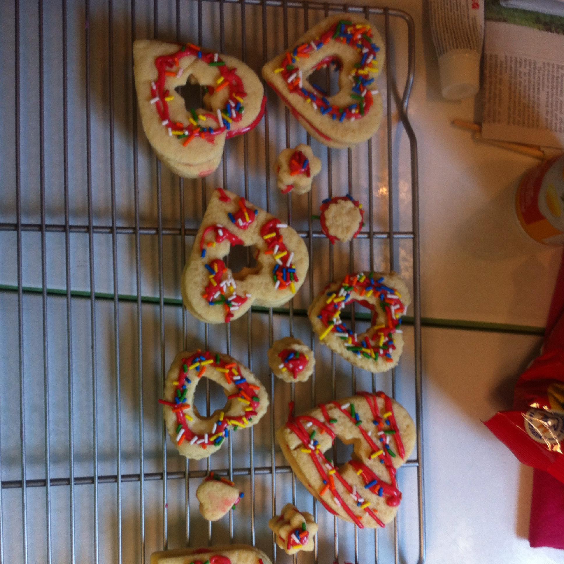 Valentine Conversation Heart Cookies Brett Sherman