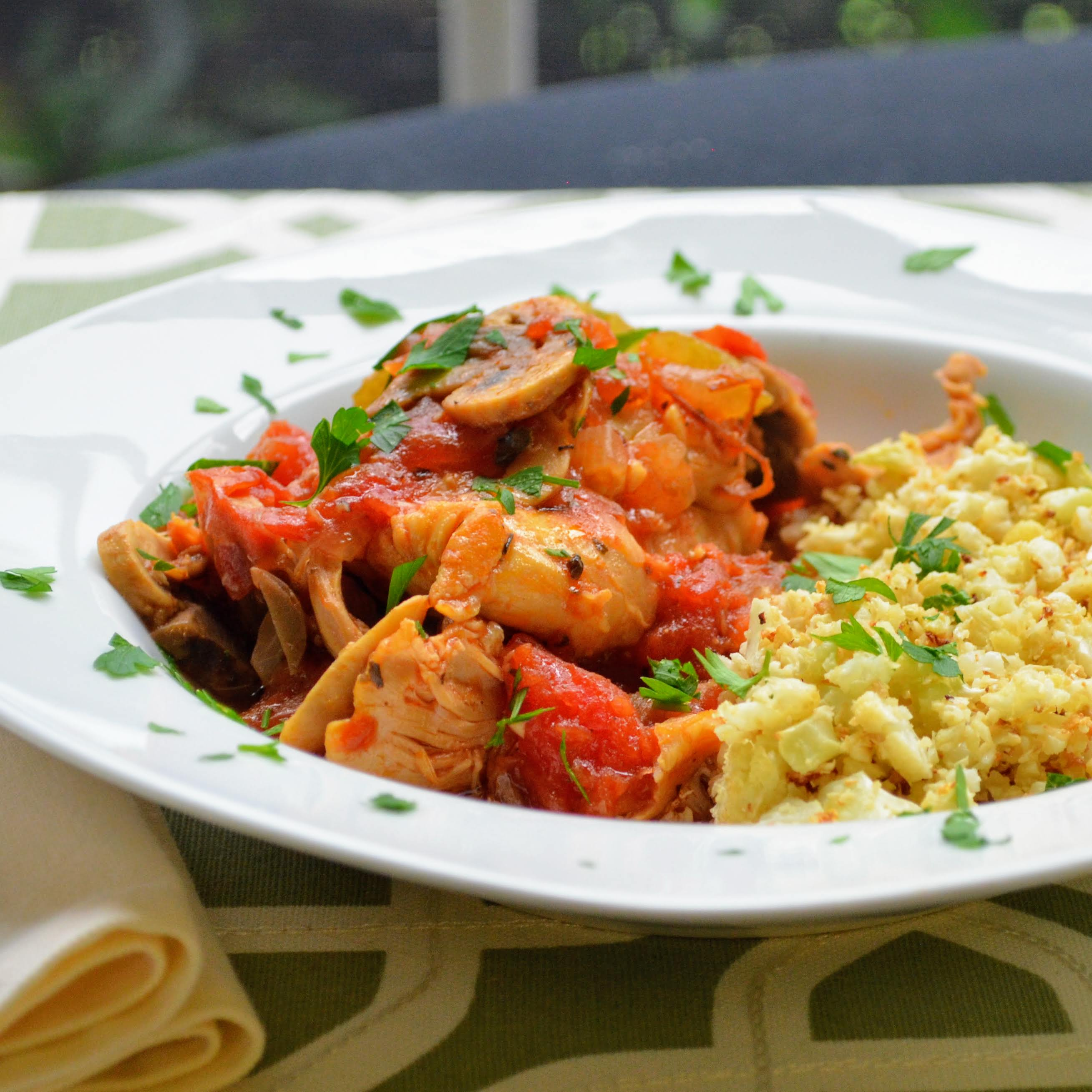 Instant Pot® Chicken Cacciatore Kim's Cooking Now