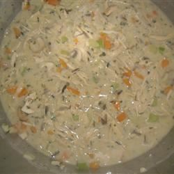 Creamy Chicken and Wild Rice Soup kristirees