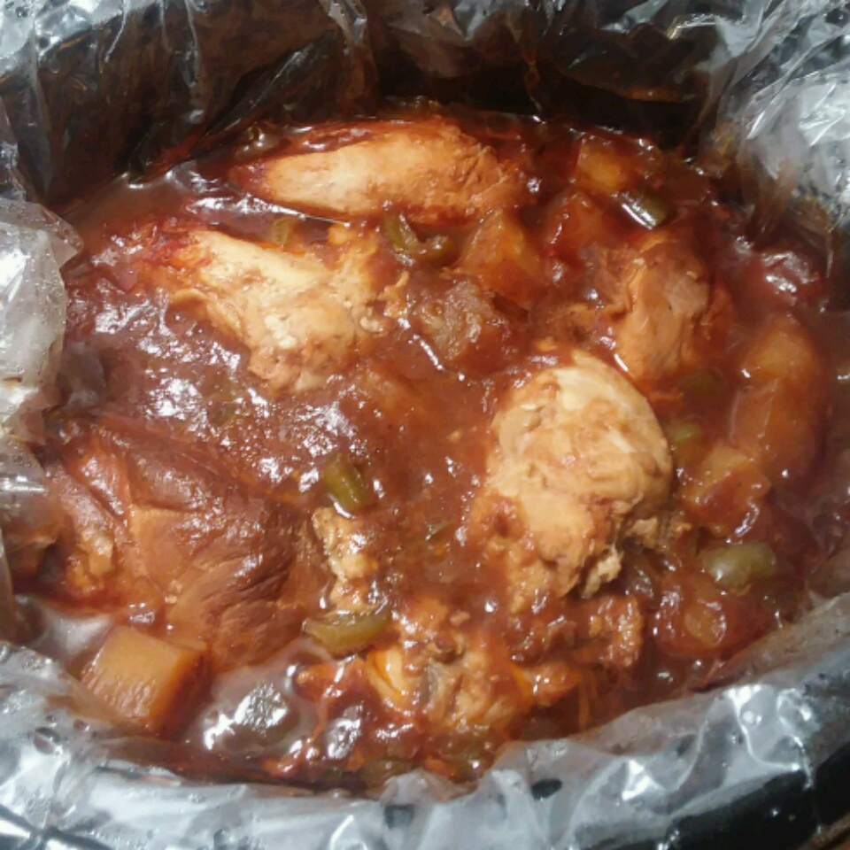 Slow Cooker Sweet and Tangy Chicken Jan Taylor