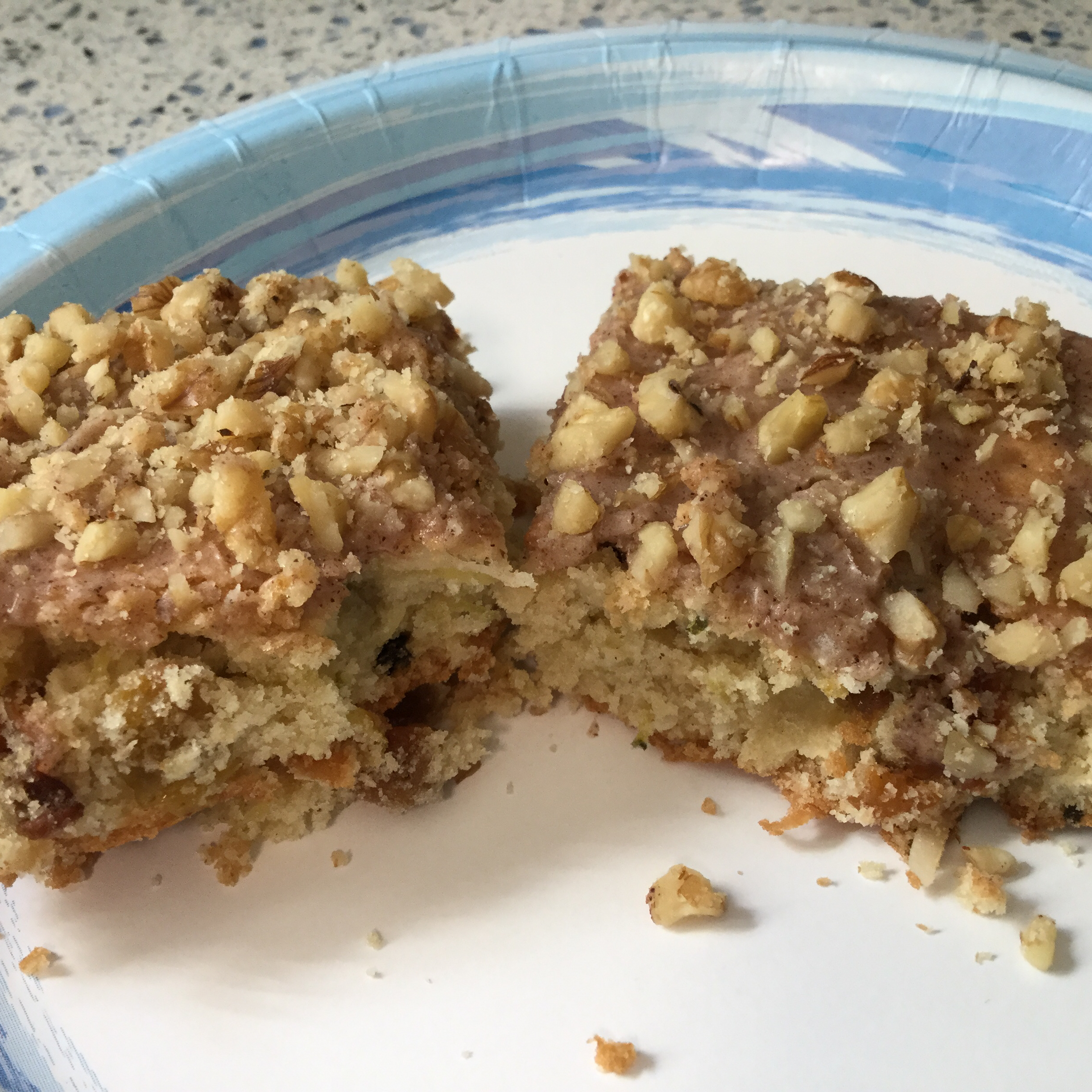 Zucchini-Coconut Cookie Bars MARBALET