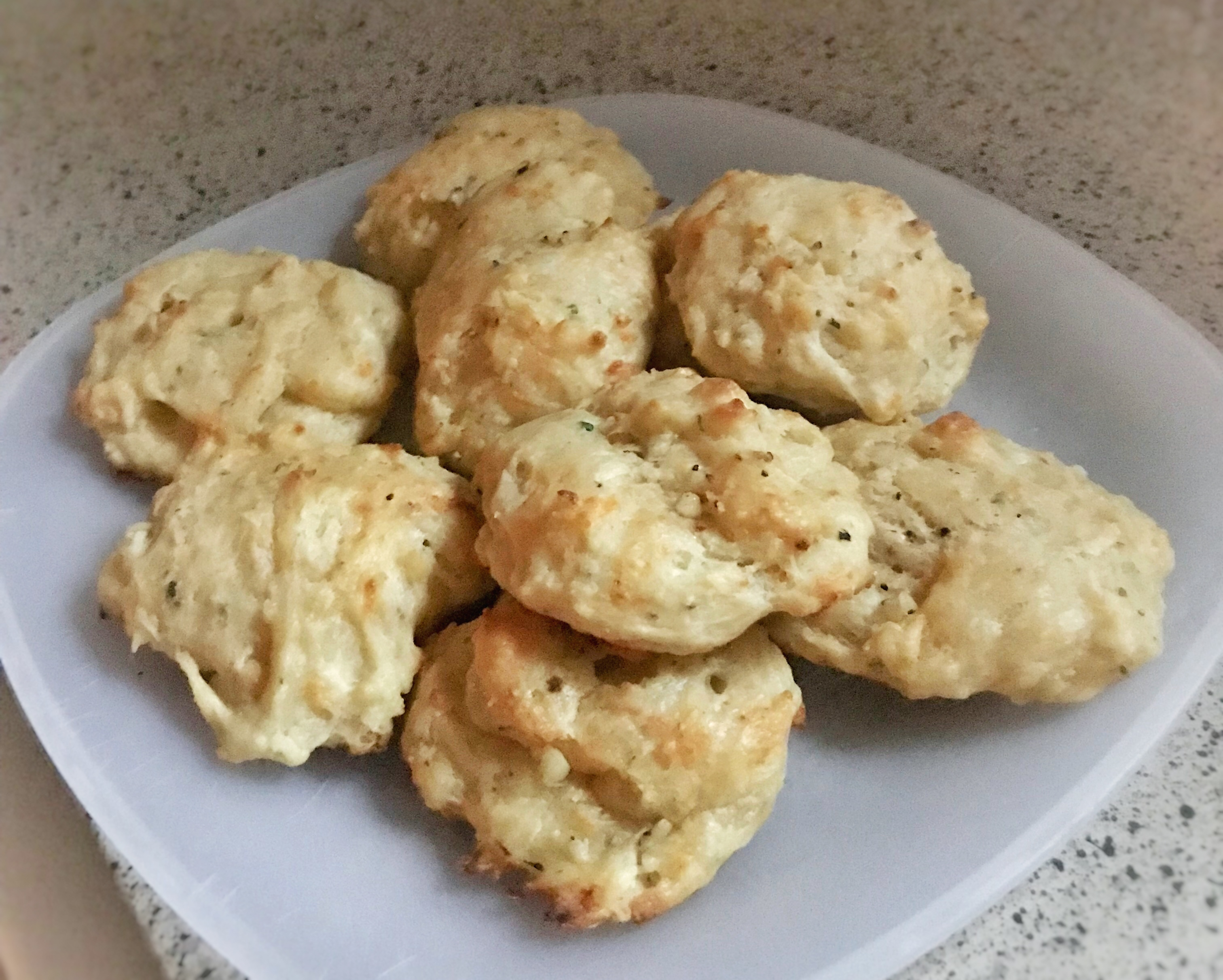 Cheese Garlic Biscuits II Marge