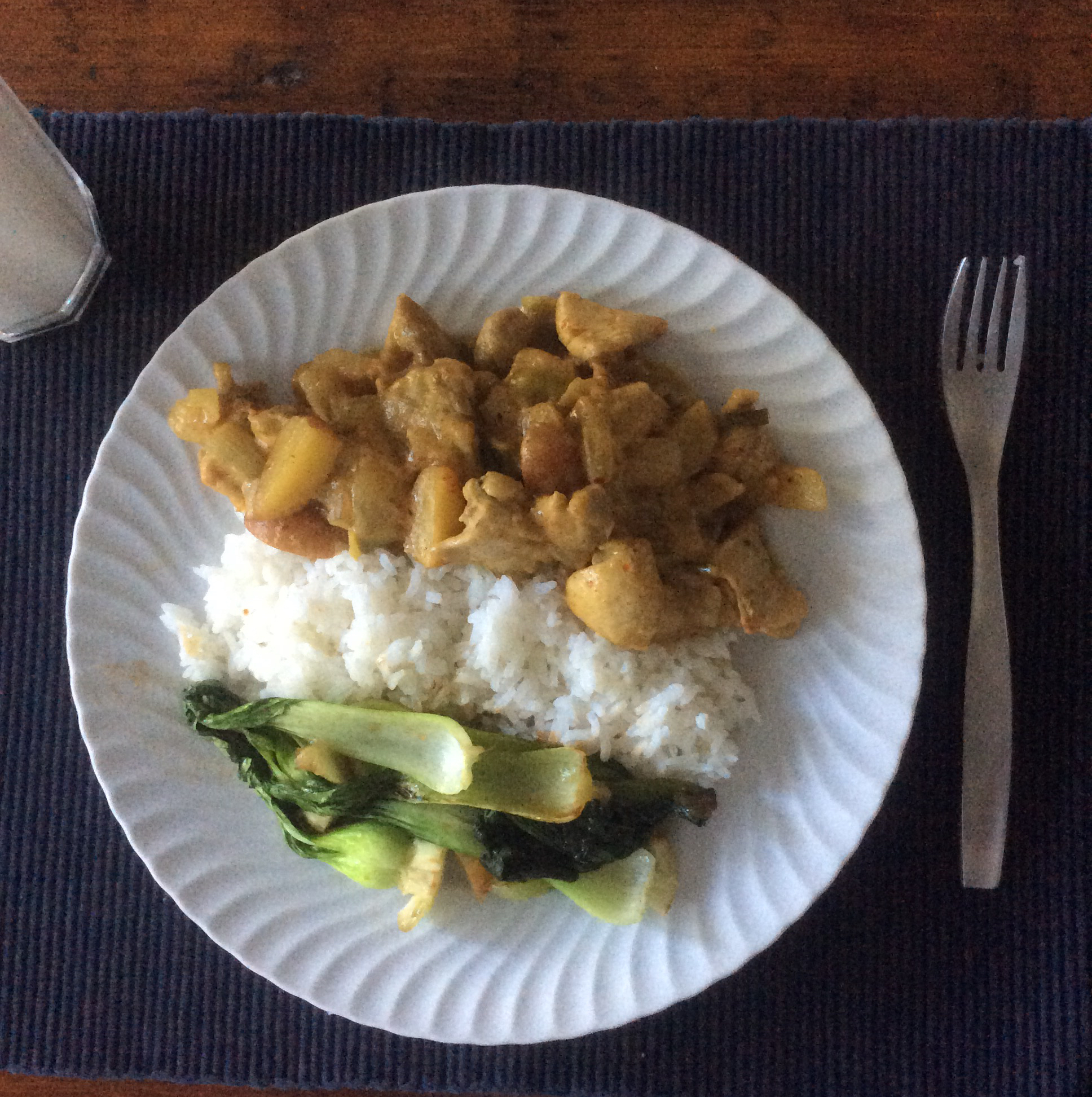 Thai Chicken Curry in Coconut Milk