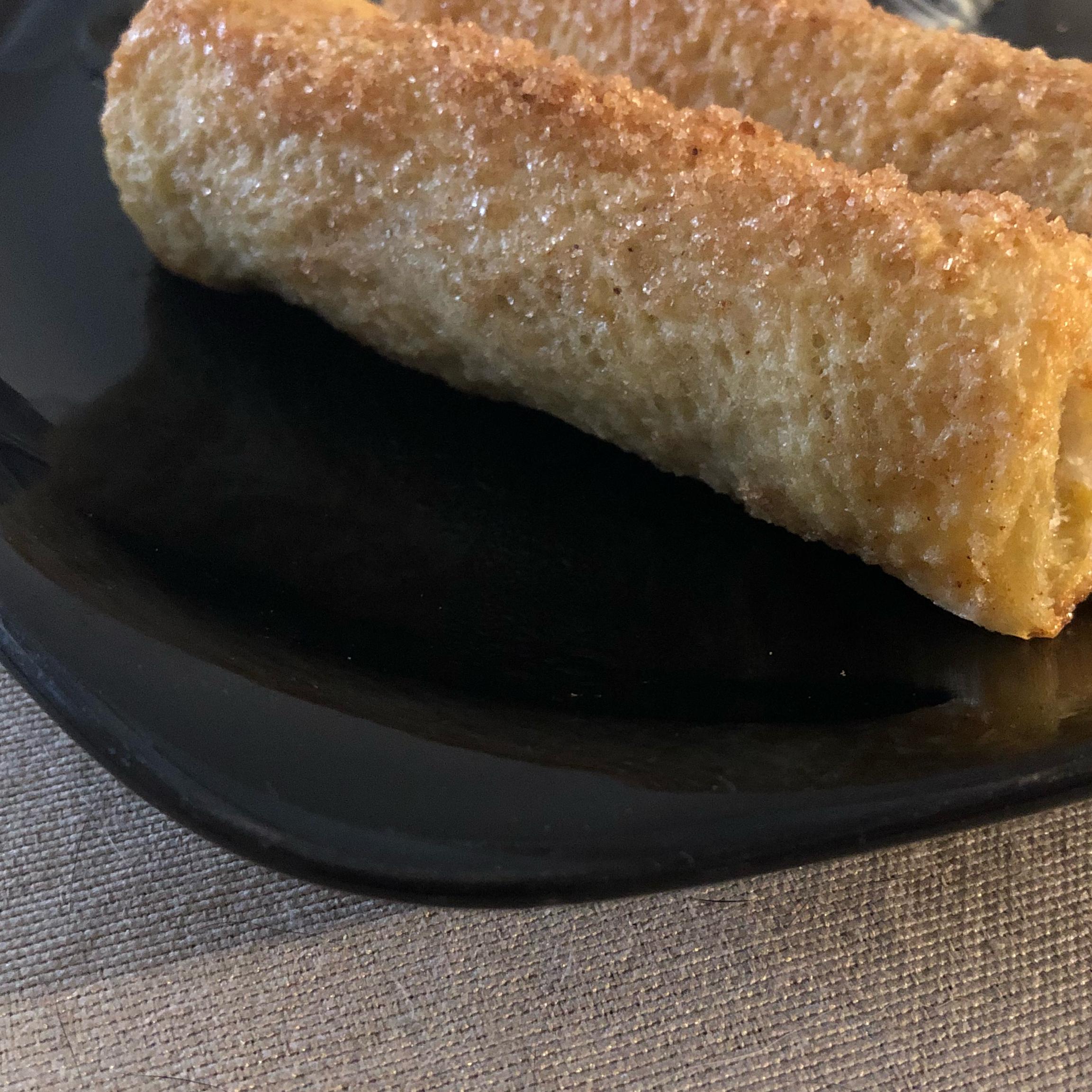 French Toast Sausage Sticks Lucy