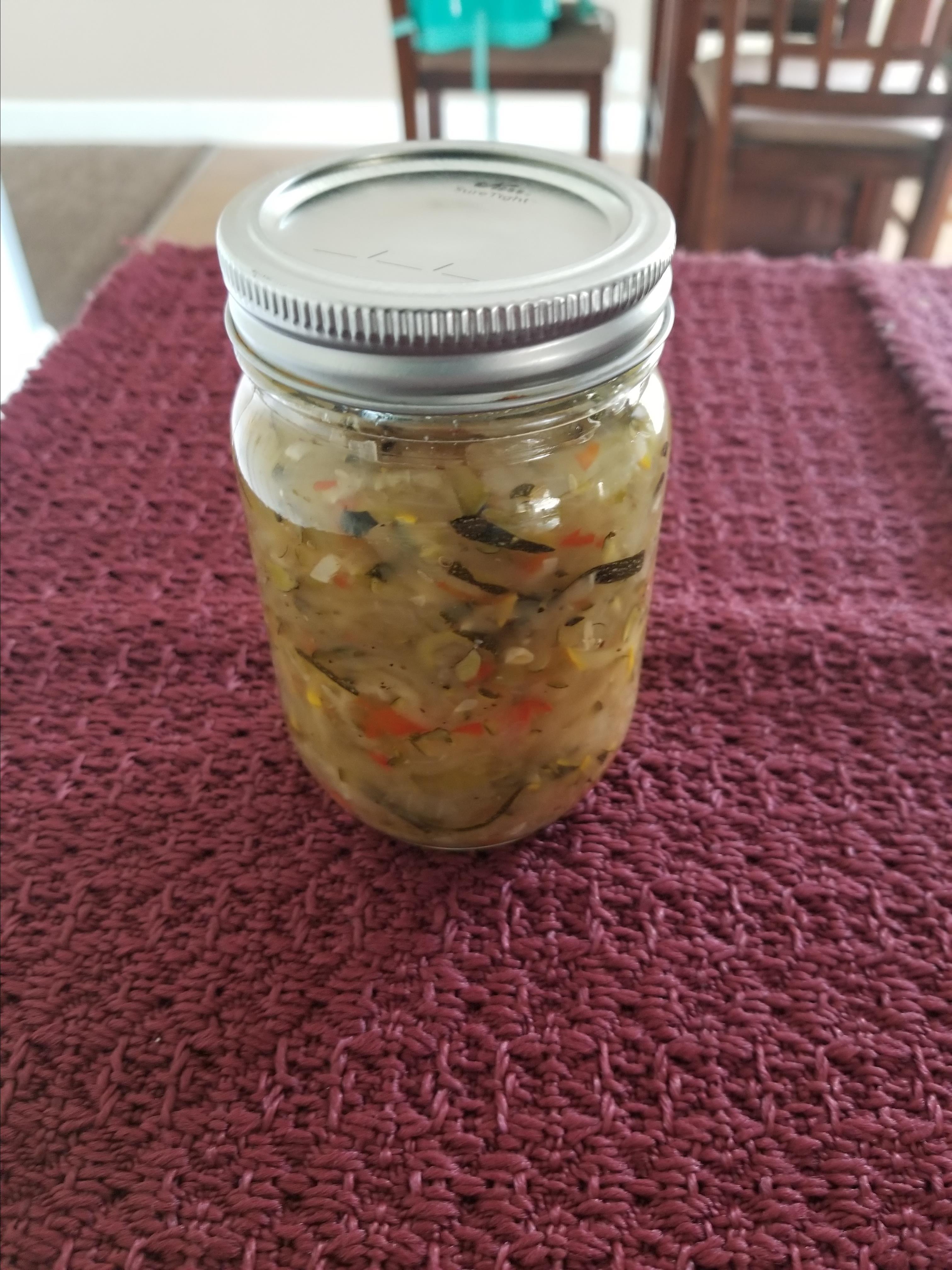 Easy Zucchini Relish Jenny