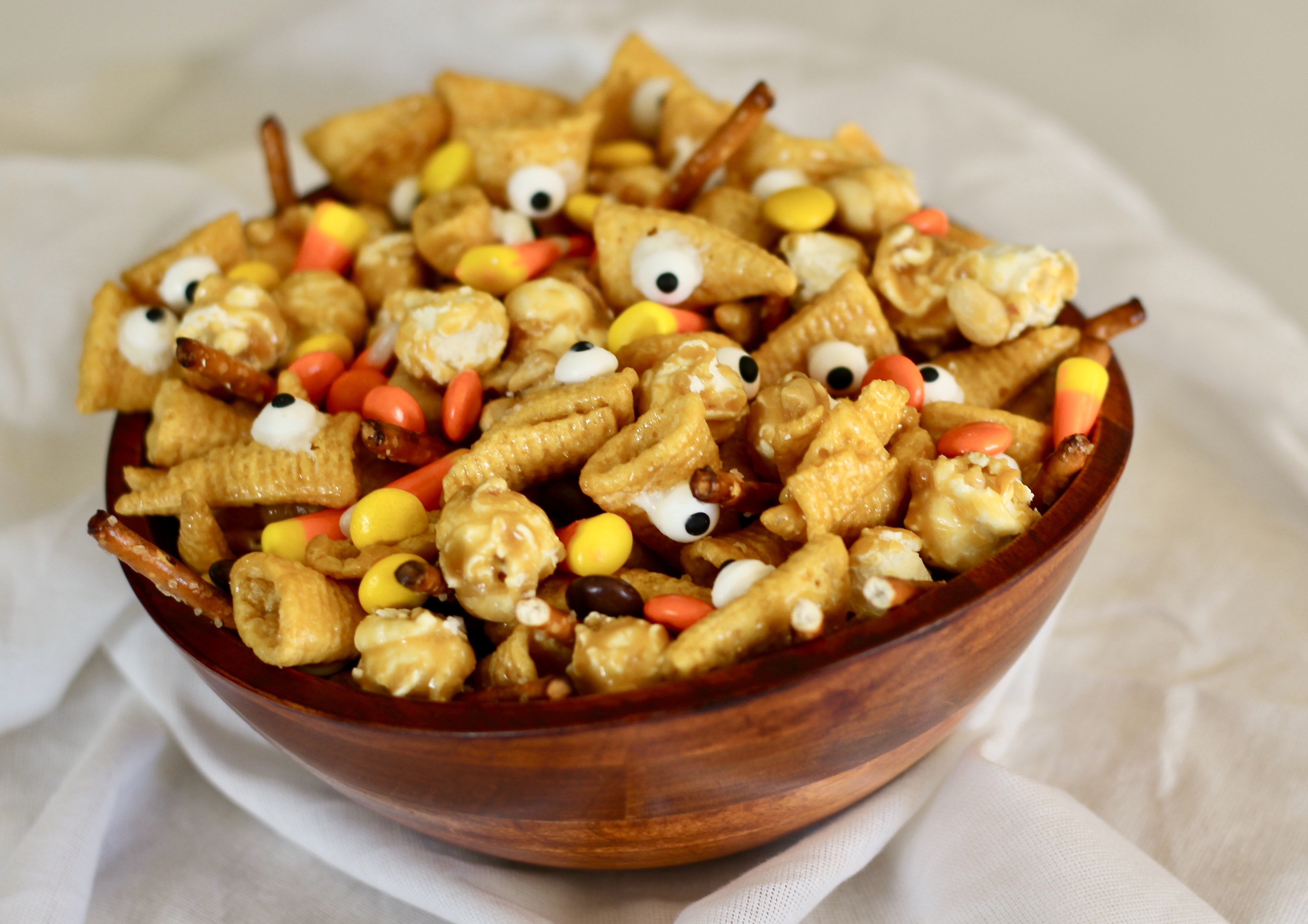 Ghoulishly Good Halloween Snack Mix