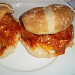 Mini Meatball Subs