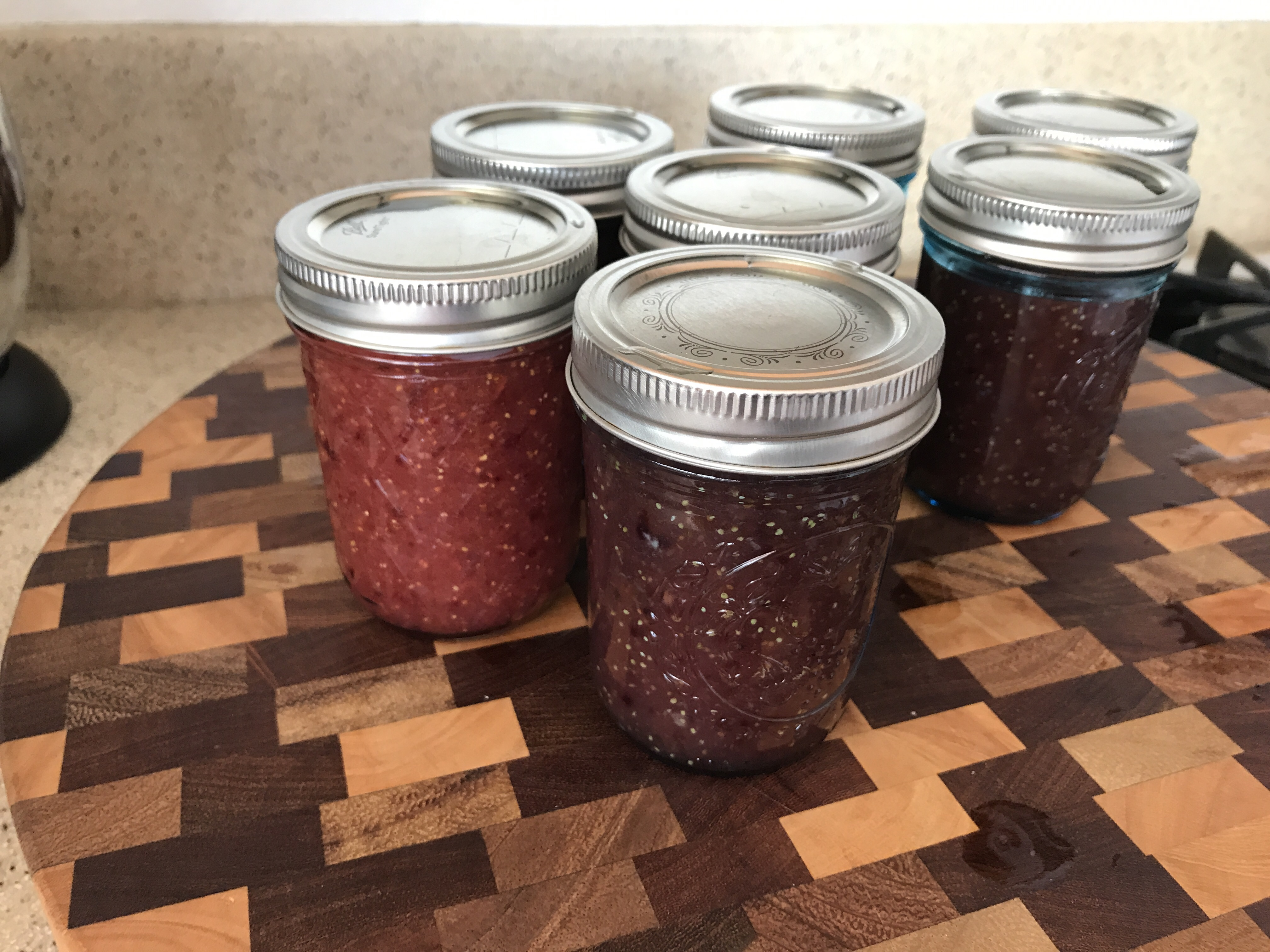 Fresh Fig Freezer Jam Camille Hastings