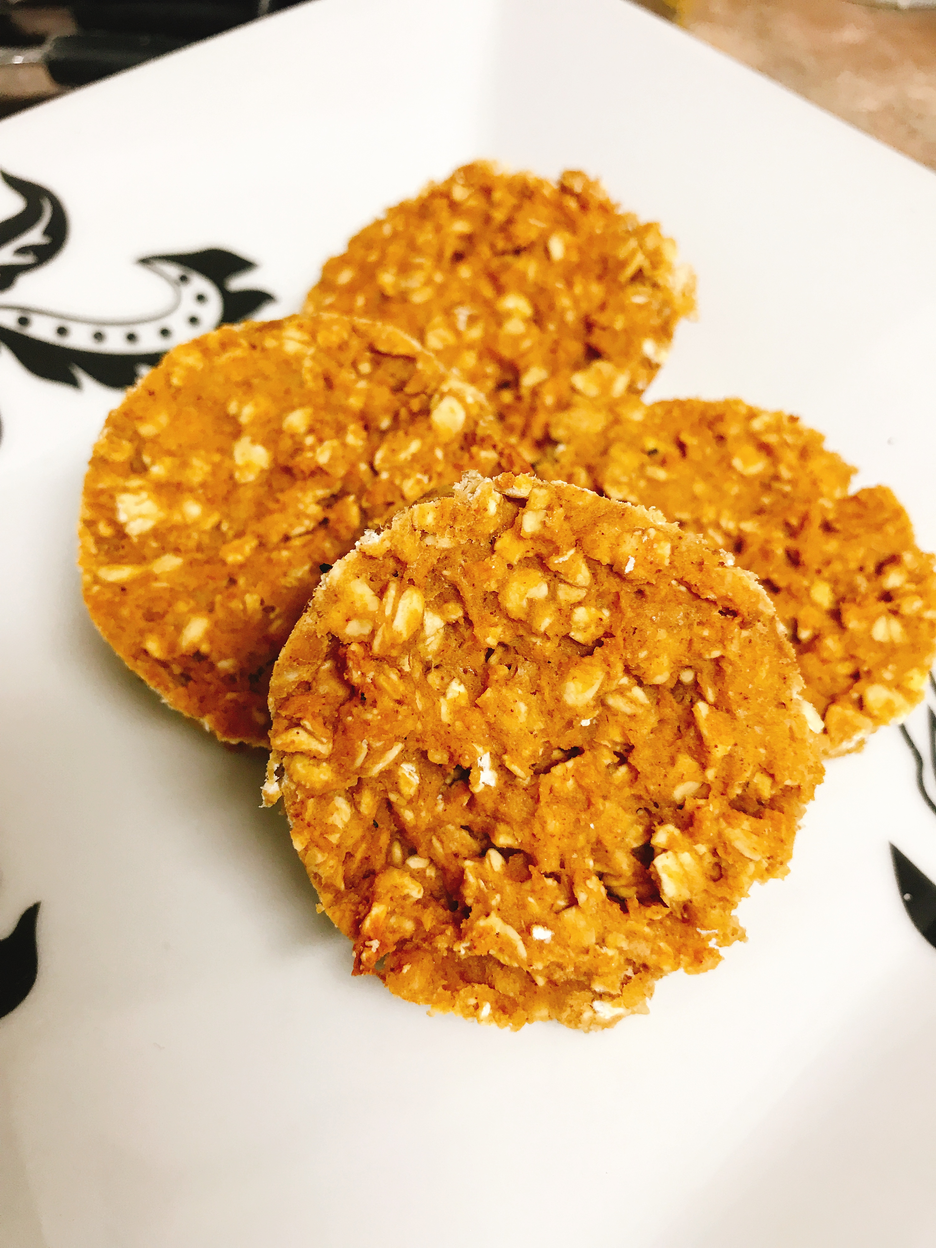 Pumpkin Spice Protein Breakfast Cookie