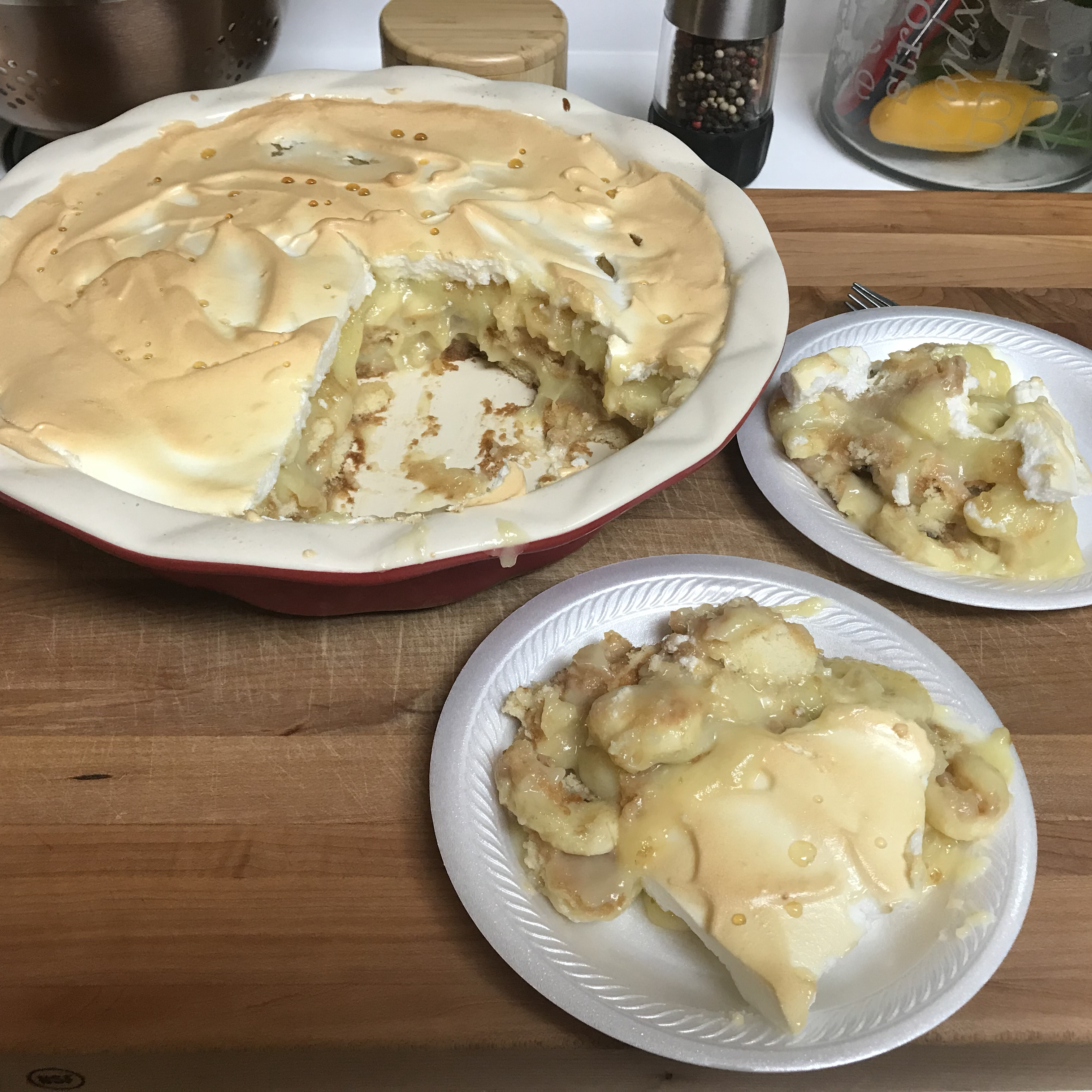 Homemade Banana Pudding Pie Jeff
