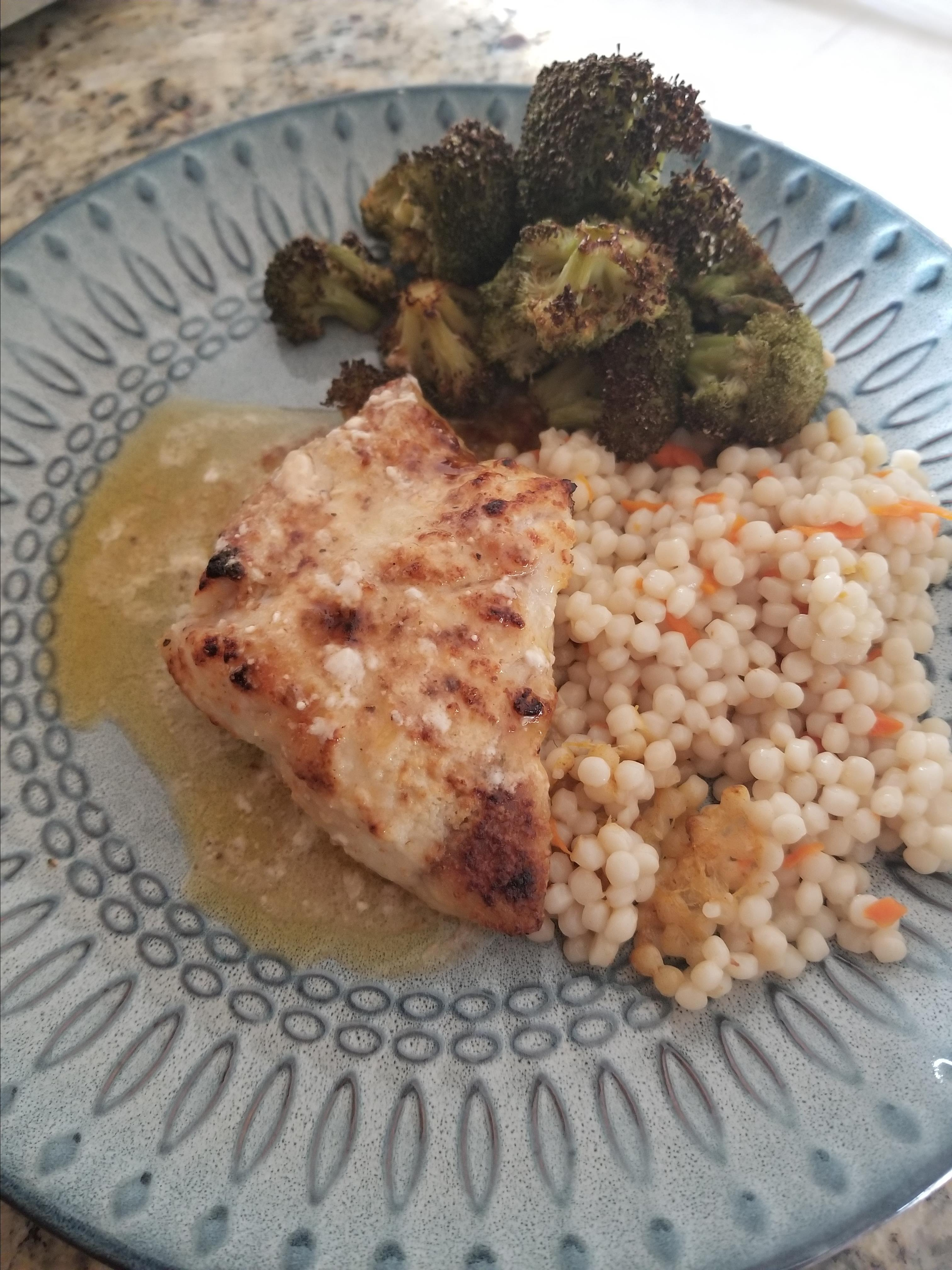 Broiled Grouper Parmesan Constance Knight