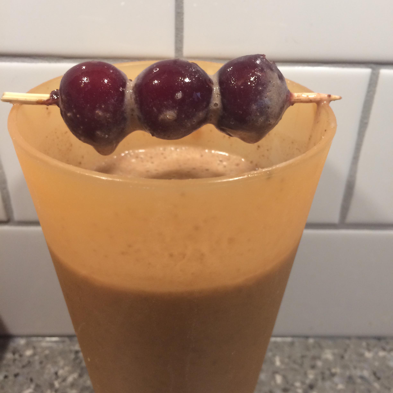 Banana Chocolate Almond Milk Smoothie Claire Moore